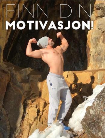 Finn din motivasjon poster