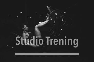 Studio trening - hjemmeside bilde
